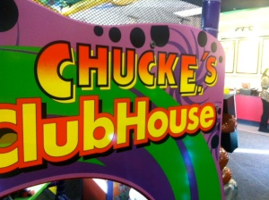 Chuck E's Clubhouse of measles.